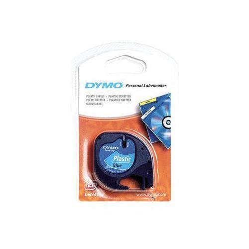 taśma do letra tag plastikowa 12mmx4m, niebieski marki Dymo