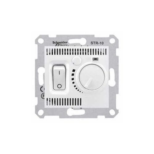 Regulator temperatury Schneider Sedna SDN6000321 podłogowy termostat biały, SDN6000321