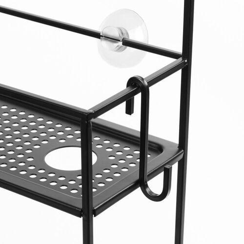 Umbra - Organizer łazienkowy Cubiko - czarny