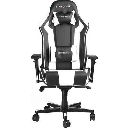 DXRacer fotel obrotowy King KS06/NW, czarny/biały (KS06/NW)