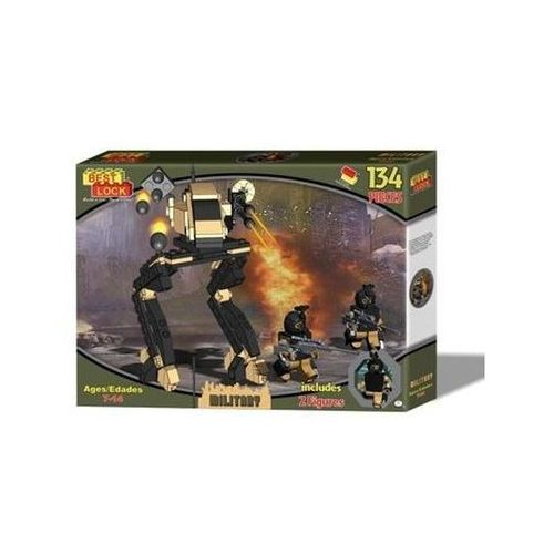 Klocki Best Lock Military Robot 134 elementy (0691348147306)