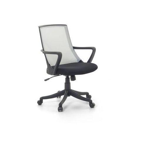 Krzesło biurowe jasnoszare - fotel biurowy obrotowy - meble biurowe - ergo marki Beliani
