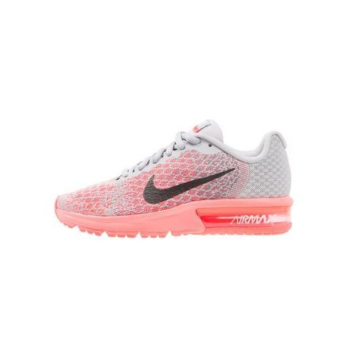 Nike Performance AIR MAX SEQUENT 2 Obuwie do biegania treningowe wolf grey/black/cool grey/hot punch, 869994