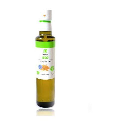 Olej lniany BIO (Intenson) 250ml, INTENSON