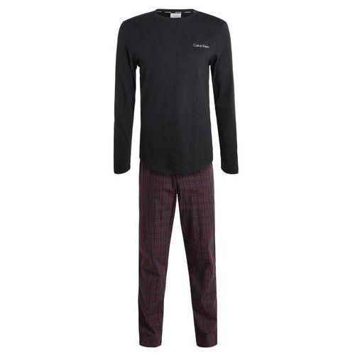 Calvin Klein Underwear PANT CREW SET Piżama black, 000NM1472E
