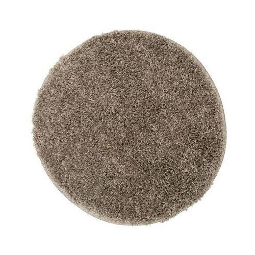 Dywan shaggy EVO kawowy okrągły śr. 60 cm (4823057008951)