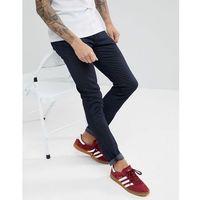 slim fit jeans in indigo wash - navy marki Celio