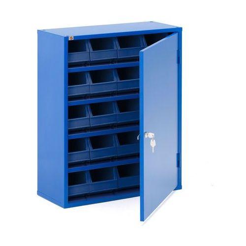 Aj produkty Szafka warsztatowa serve z pojemnikami, 800x660x275 mm, niebieski