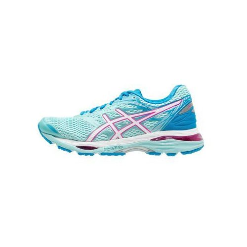 Asics  gelcumulus 18 obuwie do biegania treningowe aqua splash/white/pink glow (8718833817499)
