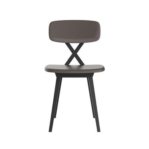 QeeBoo Krzesło X z poduszką gołębi 16003DG