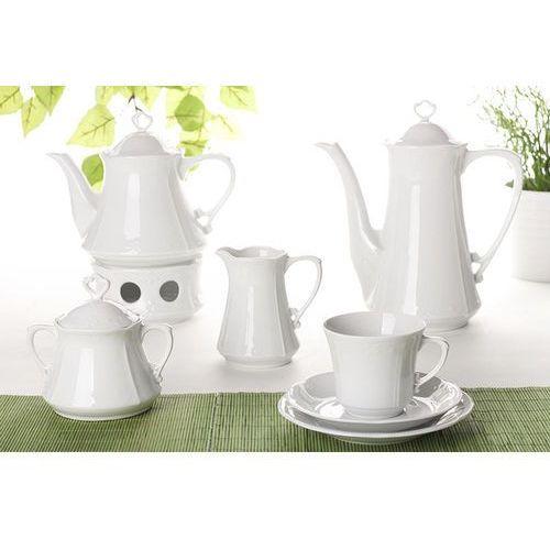 Chodzież biała kamelia serwis kawowy i herbaciany 41/12 c000 marki Chodzież / kamelia