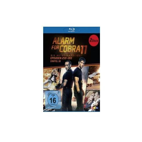 Alarm für Cobra 11, 2 Blu-rays. Staffel.33