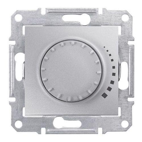 Schneider electric Sedna ściemniacz obrotowy rc 25-325va 250v ip20 aluminium sdn2200660 (8690495044010)