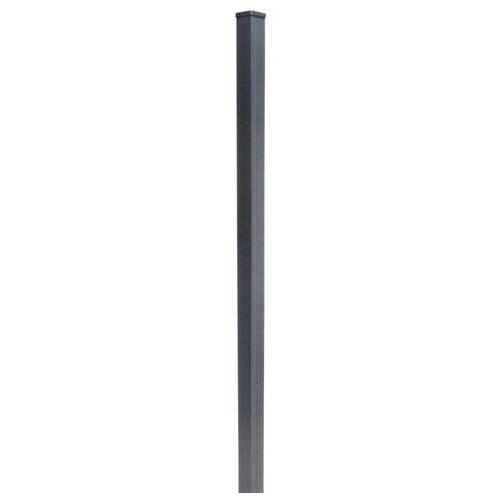 Słupek GoodHome Neva aluminium 183 cm taupe (3663602432128)