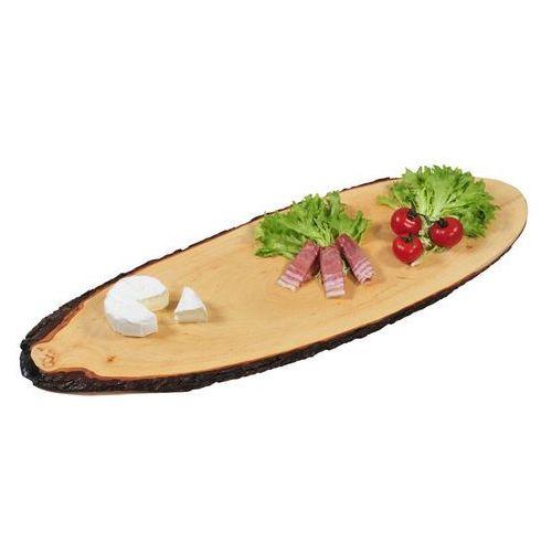 Kesper Ozdobna duża deska do serwowania potraw z olchy, deska dekoracyjna, deska kuchenna, półmisek, akcesoria kuchenne,
