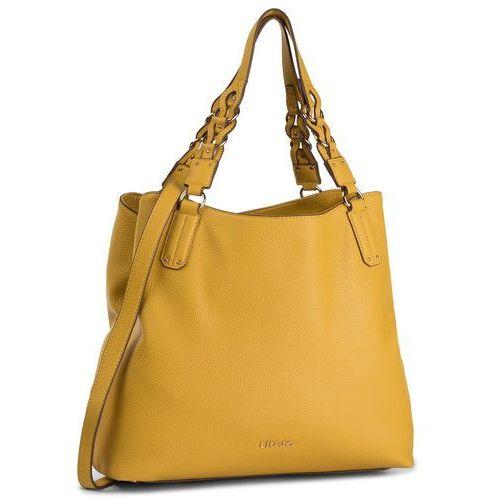 Liu jo Torebka - m satchel a69060 e0086 light yellow 50850