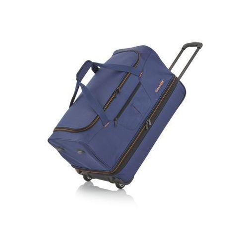 Travelite Basics mała torba podróżna poszerzana granatowa
