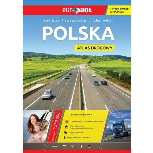 Polska. Atlas drogowy w skali 1:500 000. Europilot - Wysyłka od 3,99, DAUNPOL