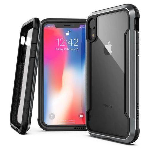 X-Doria Defense Shield Etui Aluminiowe iPhone Xr (Black) (Drop Test 3m), kolor czarny