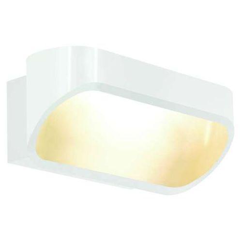 Kinkiet LAMPA ścienna SAYRO 20040101 Kaspa minimalistyczna OPRAWAnowoczesna LED 5W metalowa biała, 20040101