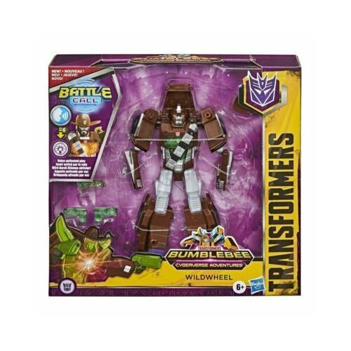 Hasbro Figurka transformers cyb battle call trooper class wildwheel + prezent do zakupów za min.30 zł. (5010993662647)