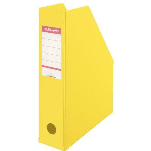 Esselte Pojemnik na dokumenty vivida 7cm żółty składany