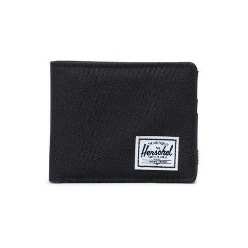 portfel HERSCHEL - Roy + Coin RFID Black (00001)
