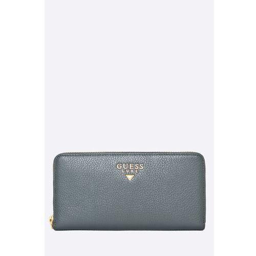 Guess jeans - portfel skórzany krystal