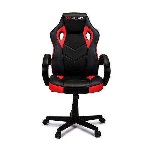 Fotel gamingowy PAGANI czerwony PRO-GAMER dla graczy