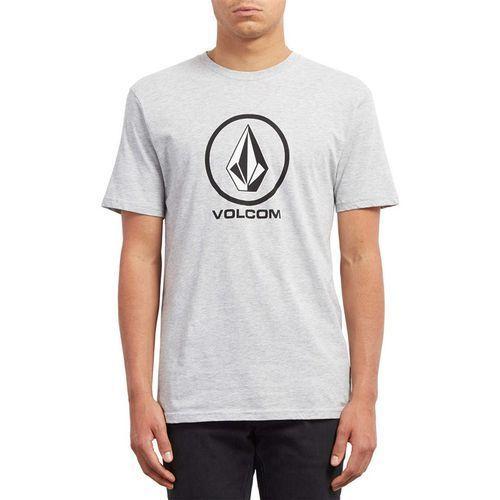 Koszulka - crisp stone bsc ss heather grey (hgr) rozmiar: l marki Volcom