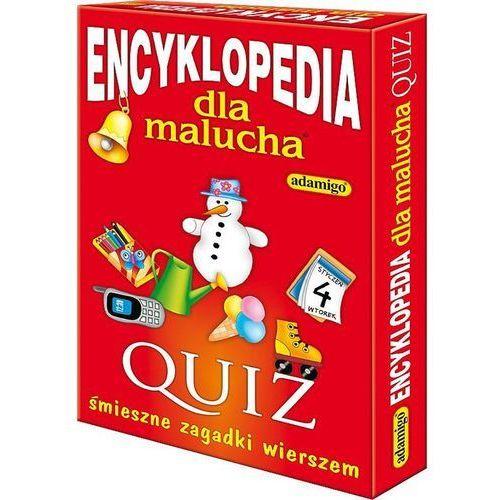 Adamigo Encyklopedia dla malucha quiz (5902410004843)