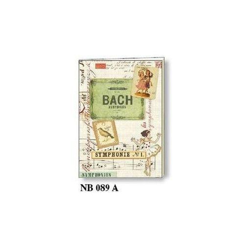 Notatnik ozdobny A5 64 kartek BR NB 089A (8018646011818)