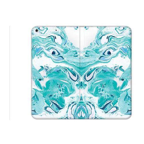 etuo Flex Book Fantastic - Apple iPad (2017) - etui na tablet Flex Book Fantastic - niebieski marmur, kolor Flex