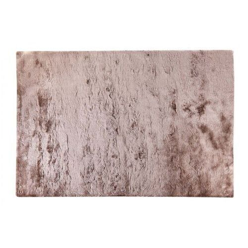 Dywan shaggy DOLCE szarobrązowy z beżowym połyskiem - poliester - 200 * 290 cm