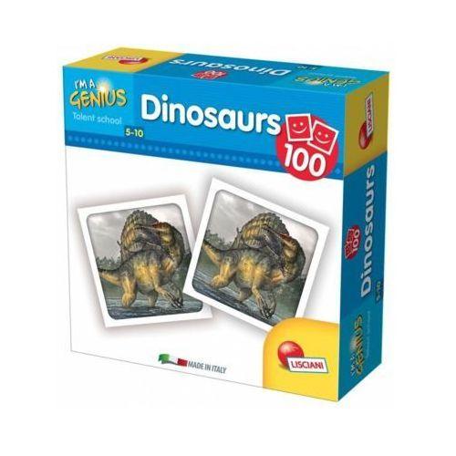 I'm genius memoria 100 dinozaurów - darmowa dostawa od 199 zł!!! marki Liscianigiochi