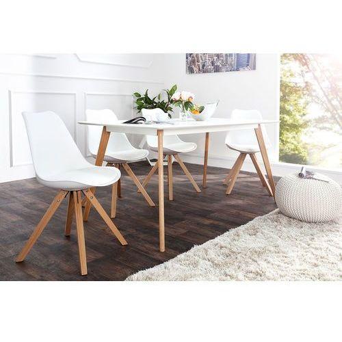 Krzesło astoria new ii (białe) - biały marki Interior