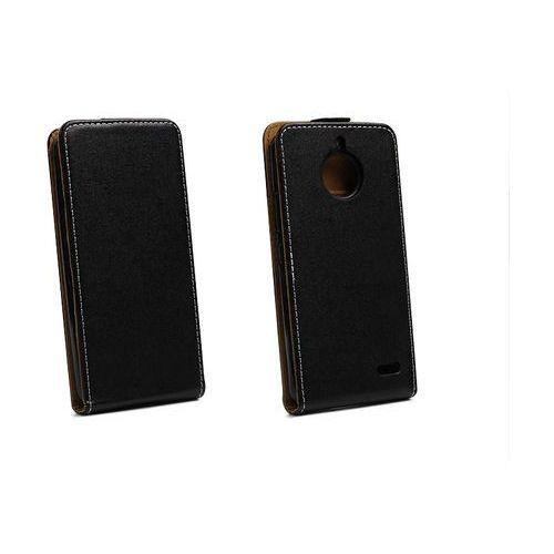 Motorola Moto E4 - etui na telefon Forcell Slim Flexi - czarny, kolor czarny