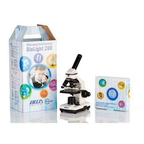 Mikroskop szkolny Biolight 200 Delta Optical z modułem zasilania z kategorii Mikroskopy