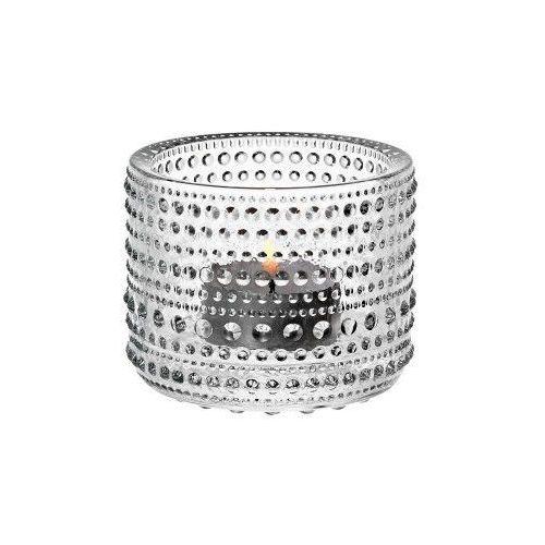 Kastehelmi świecznik na tealight, przezroczysty - Iittala, 1007578