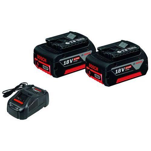 Akumulator BOSCH 2 x GBA 18V 6,0Ah + Ładowarka GAL 1880 CV + DARMOWY TRANSPORT! (3165140839365)