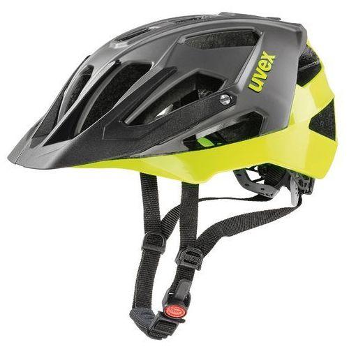 Uvex kask rowerowy quatro black neon-lime (2017)