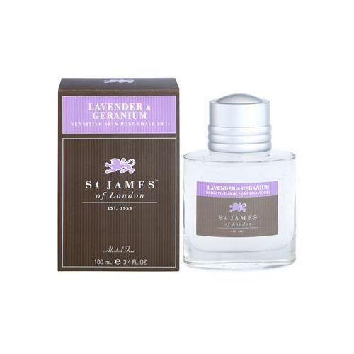 lavender & geranium żel po goleniu dla mężczyzn 100 ml + do każdego zamówienia upominek. marki St. james of london