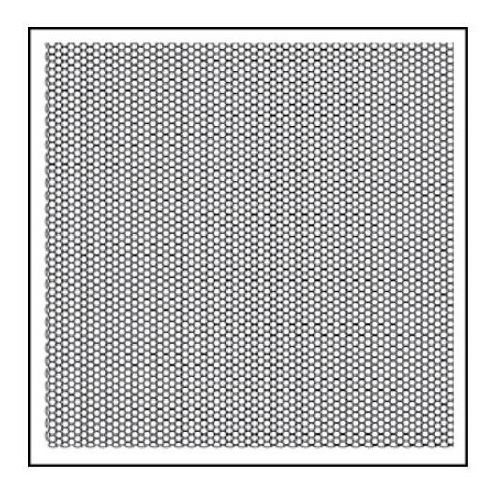 Stempel akrylowy Stamperia WTK135 plaster miodu