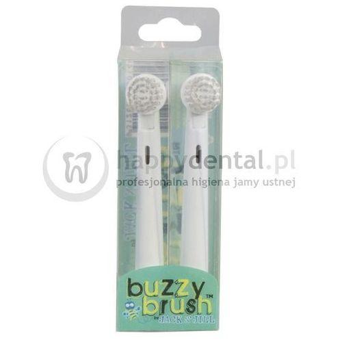 JACK N-JILL Buzzy Brush Heads 2szt. - końcówki wymienne do szczoteczki Buzzy Brush