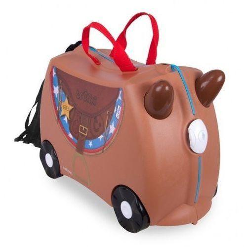 Walizka TRUNKI Koń Bronco jeżdżąca + DARMOWY TRANSPORT! (5055192201839)