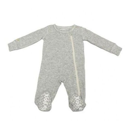 Pajacyk light grey fleck newborn marki Juddlies