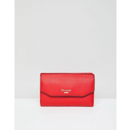 Dune foldover purse - red