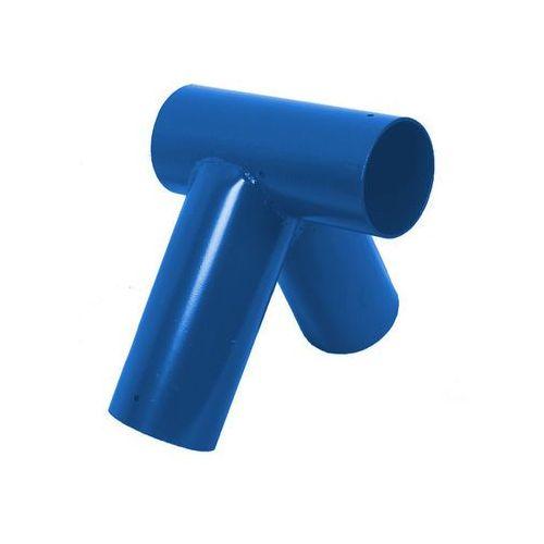 Łącznik do belki Ø100 mm, 100° - niebieski