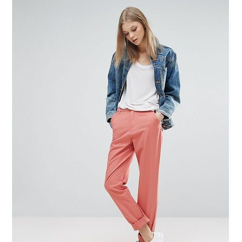 Asos tall  chino trousers - pink