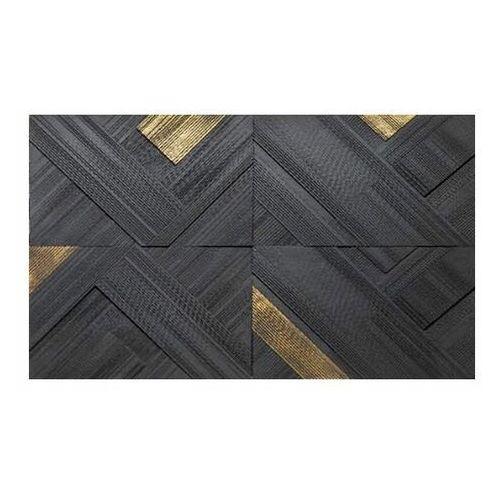 Kamień dekoracyjny betonowy Triangular złoty 0,64 m2